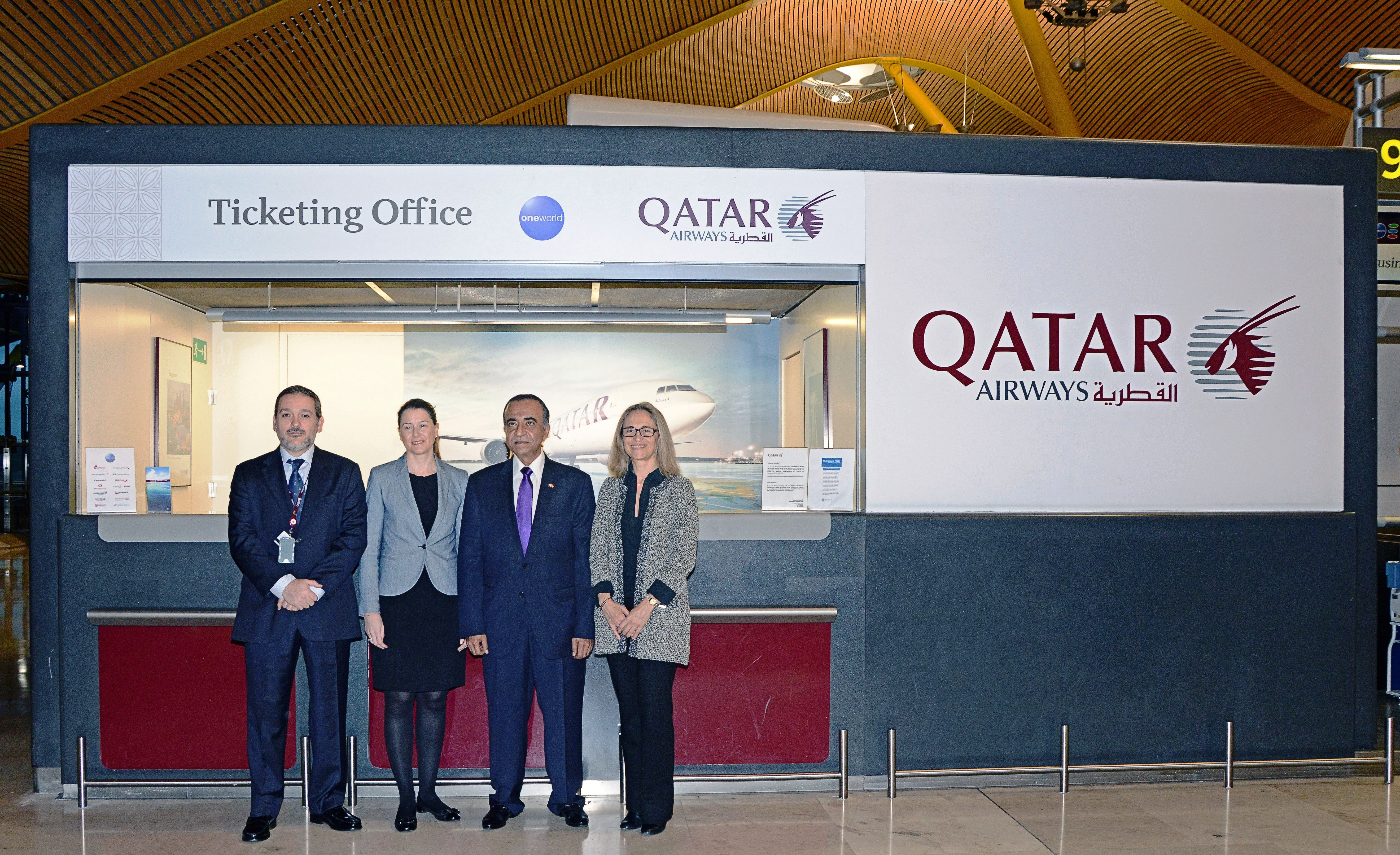 Qatar airways refuerza su ruta madrid doha con 10 for Oficina qatar airways madrid