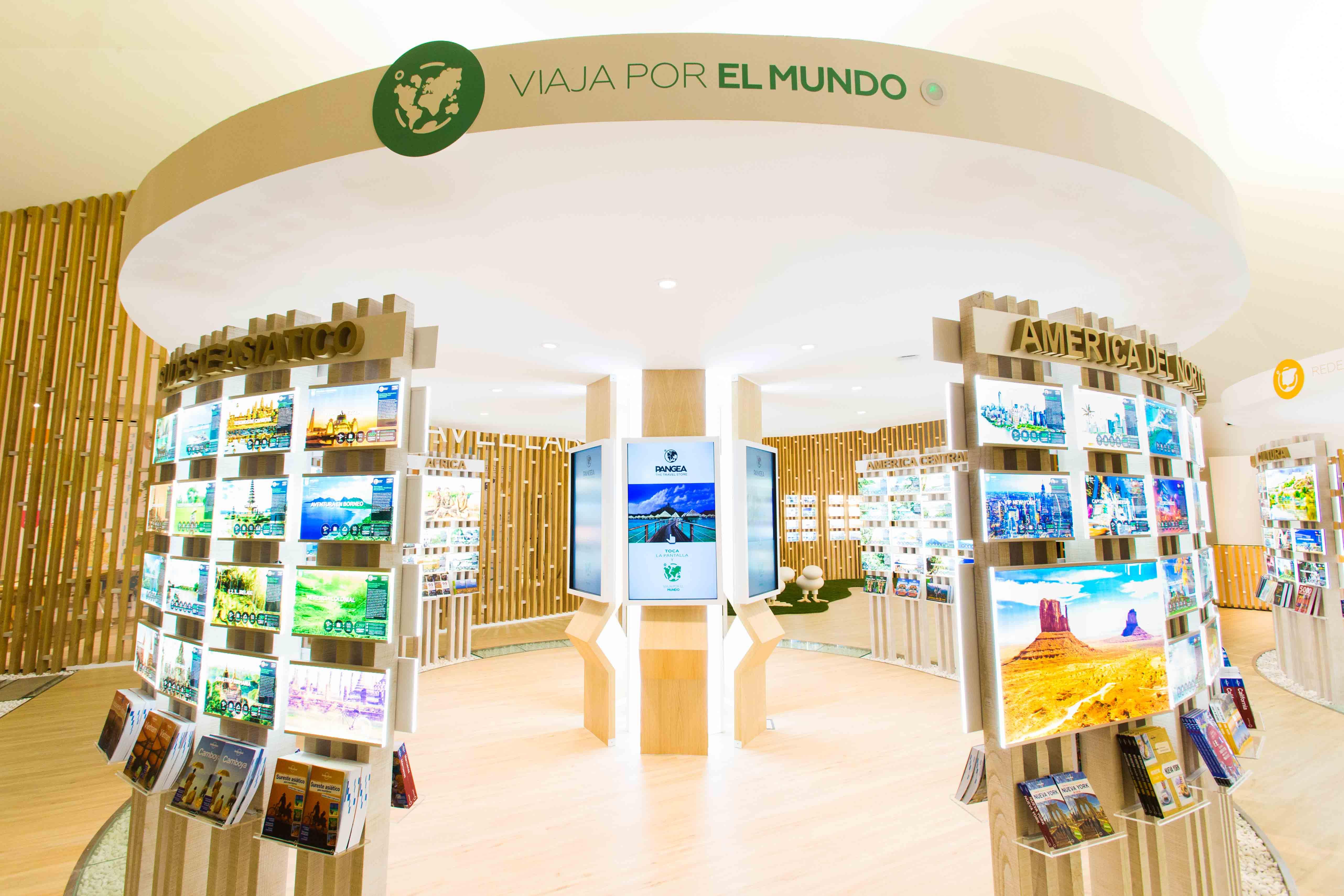 Pangea the travel store abre en madrid un nuevo concepto for Oficinas vueling barcelona