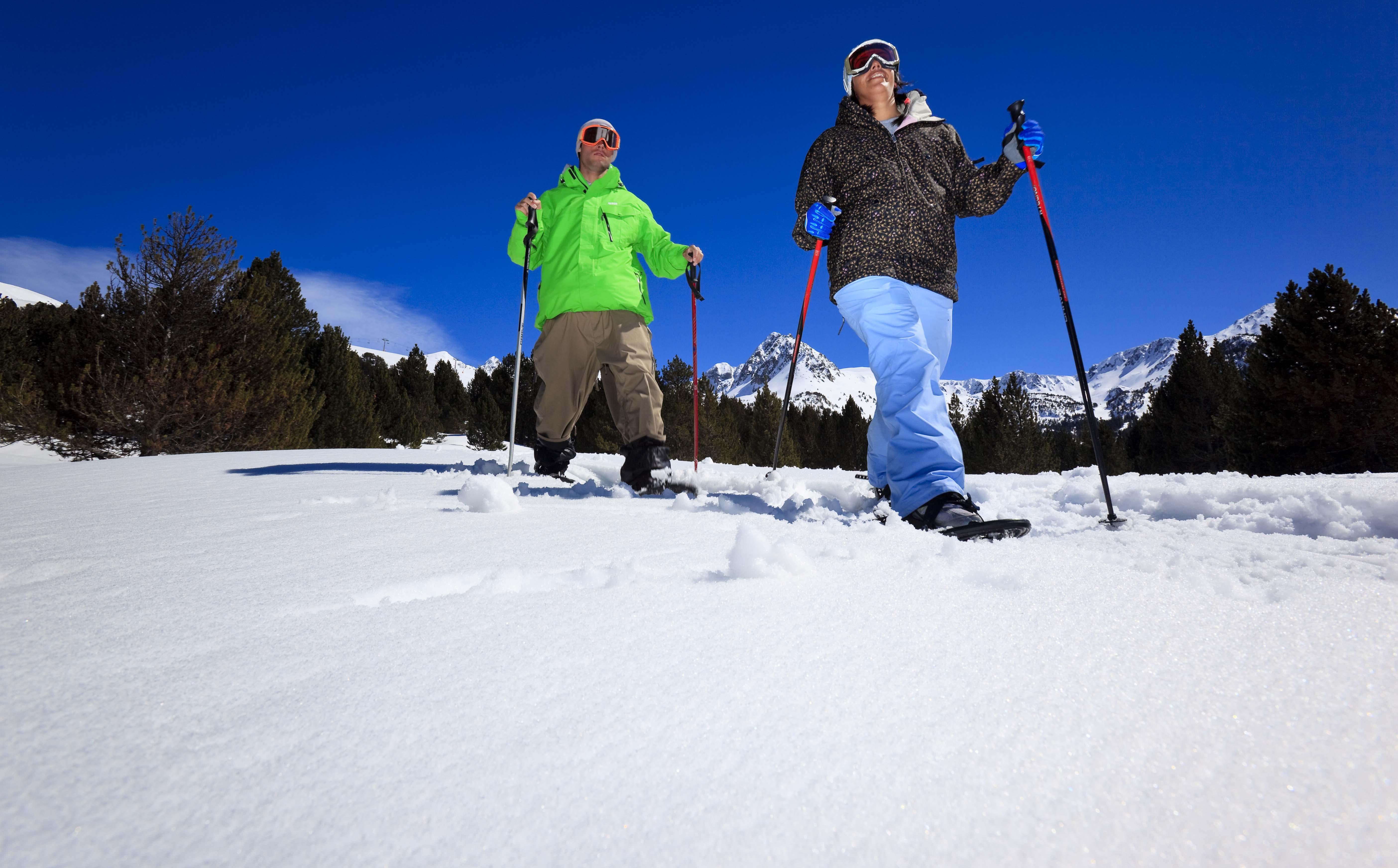 estado de la pista de esqui de andorra: