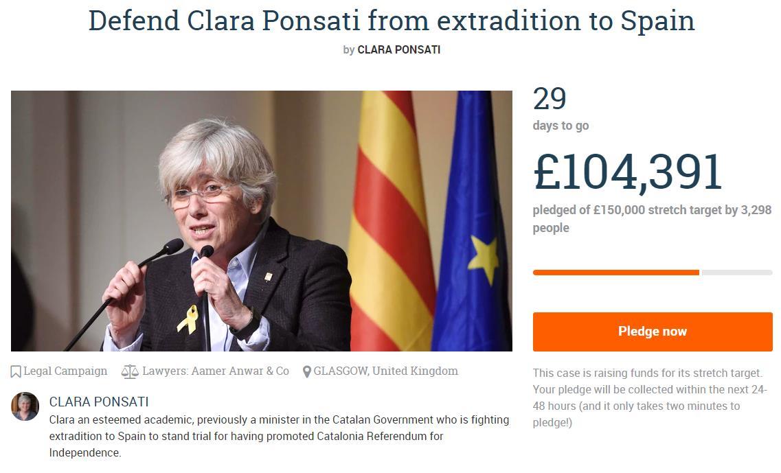 últimas Noticias De Cataluña Directo Ponsatí Rechaza Ante