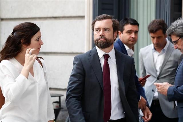 """Vox cree que habrá """"gobierno del Frente Popular"""" aunque Sánchez aún no ha ofrecido """"nada"""" a Podemos"""