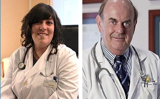 Dr. Laura Mezquita y Dr. Hernán Cortés-Funes